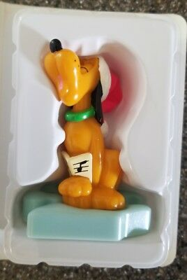 Disney Mickey's Christmas Video Showcase McDonald's Happy Meal Toy - Pluto