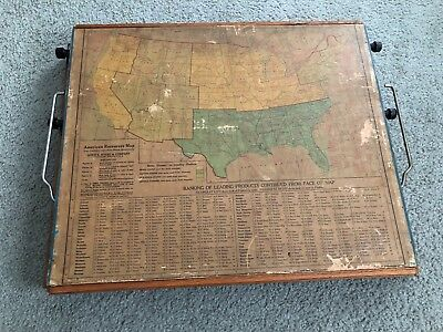 Vintage Educational Tool Lewis E. Myers School Desk Learning