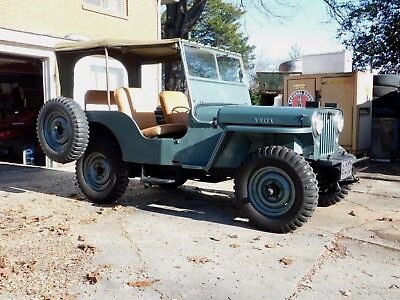 1948 Jeep CJ-2A Willys / Overland 4 x 4 1948 WILLY'S / OVERLAND / JEEP CJ-2A; Restored to Original Specs; Ex, Cond.