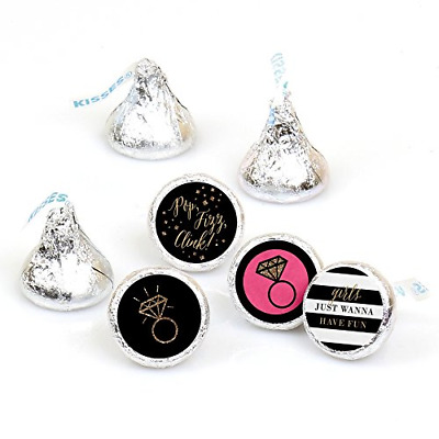 Girls Night Out - Bachelorette Party Round Candy Sticker Favors - Labels Fit 1