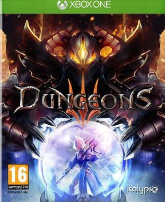 Dungeons III Xbox One NEUF SOUS BLISTER