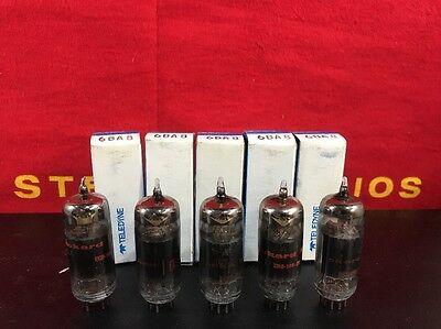 Lot of 5psc  6BA8  NOS/NIB Packard Bell Vacuum Tubes Tested