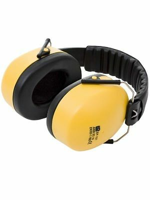 Ear Defender Yellow Folding Pro  - Foldable Compact Style 32dB Protection 1,5,10