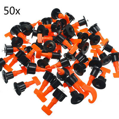 50x Tile Alignment Tile Leveling System Carrelage Clip Adjustable Hand Tools