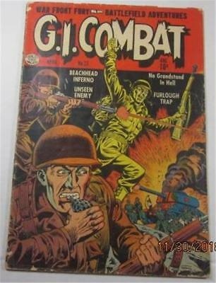 G I Combat Comic #23 April 1955 Dick Dillin  Charles Cuidera  G/vg 3.0