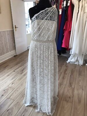 Alfred Angelo Wedding Dress In Ivory Size 14