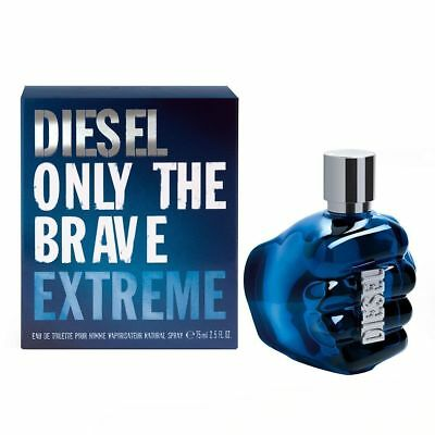 Diesel Only The Brave Extreme Eau de Toilette 75ml EDT Spray - NEW For Men