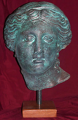 Ancient Greek Sculpture Statue Aphrodite The Goddess of Love and Beauty.