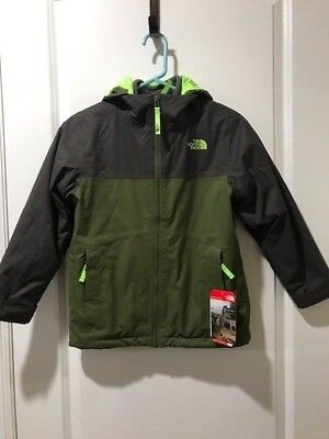 d63f462d1468 The North Face Boys Chimborazo Triclimate Jacket Green Small 7 8 NWT MSRP  150