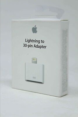 Apple Lightning to 30-Pin Adapter for iPad/iPod (MD823AM/A) - Authentic !!!