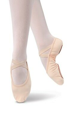 Dance Shoes Ballet Pink CANVAS Split Sole MANY BRANDS Child & Adult Sizes