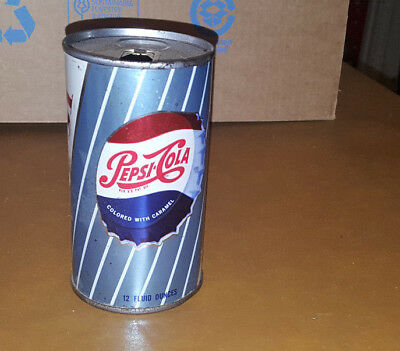 Vintage Pepsi Cola Soda Pop Can Advertising  good Condition