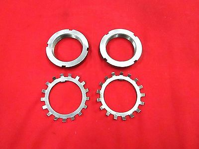 """Nascar Style Rear Hub Nuts And Locking Rings For A 9"""" Ford Rear End,n11"""