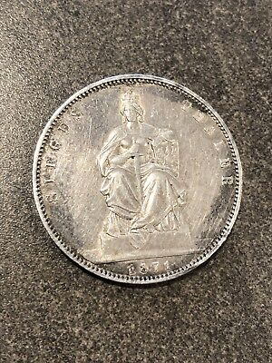 German State Prussia 1871-A Sieges Thaler Silver Coin Victory Over France