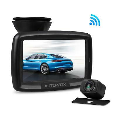 Wireless Car Reversing System Rear View Kit 4.3'' LCD Monitor + Backup Camera