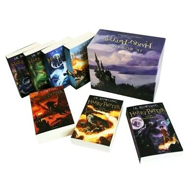 Brand New Harry Potter Box Set: Complete 7 Books Collection  by J. K. Rowling