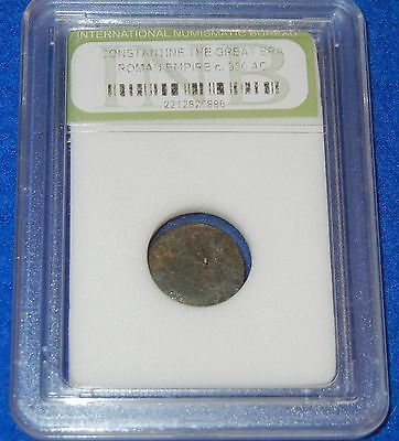 #55 Genuine Ancient Constantine The Great Era Bronze Roman Coin 2212626896