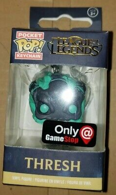 Funko Pocket Pop League of Legends Thresh GameStop Exclusive Keychain with box