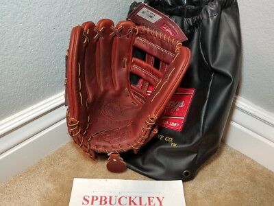 "Rawlings Primo 12.75"" Lefty European Leather Baseball Glove, Prm1275H, Nwt, Lht"