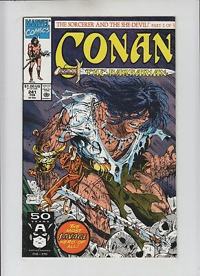 Conan the Barbarian #241 NM- 9.2/9.4 Todd McFarlane low print run