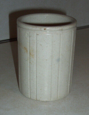 Antique Wm P Hartley's Earthenware Pottery Conserve Jelly Jar England c1870s