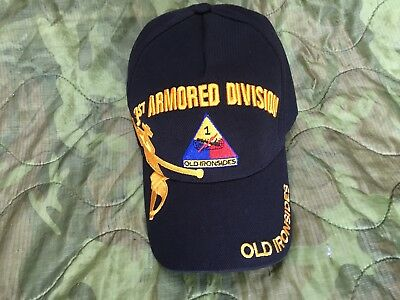 """Us Army 1St Armored Division """"old Ironsides""""  Shadow Cap"""