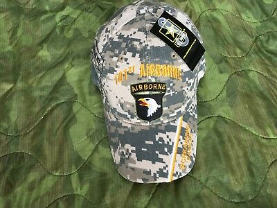 Us Army 101St Airborne Division Screaming Eagles Camo Hat