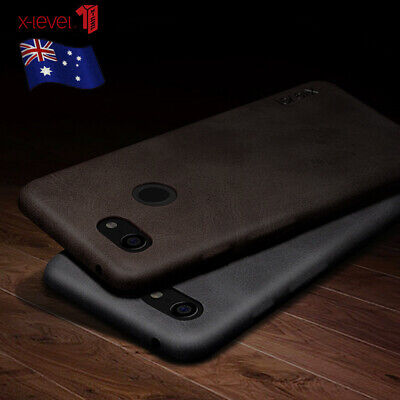 For Google Pixel 3a/3/2 XL X-LEVEL Luxury Retro Slim Leather Back Case Cover New