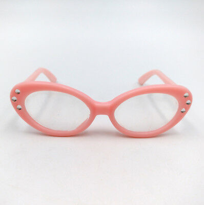 Fit For 18'' American Girl Sunglasses Pink Glasses With Crystal Doll Accessories