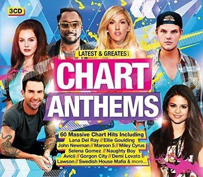 Latest and Greatest Chart Anthems [CD]