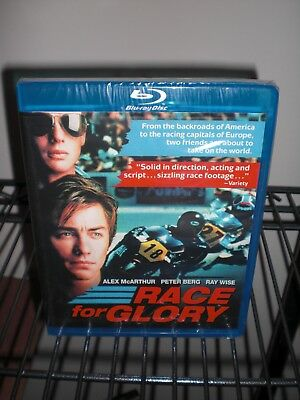 Race For Glory Blu-ray 1989 CODE RED NEW