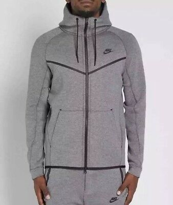 7747088989c8 Nike Tech Fleece Windrunner Hoodie Jacket Carbon Heather SZ 2XL ( 805144-091  )