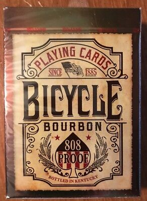 "NEW 1 Deck Bicycle ""Bourbon"" Playing Cards--Free Shipping"