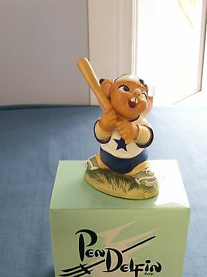 STRIKE BASEBALL PLAYER Batter Up from Pendelfin in Blue