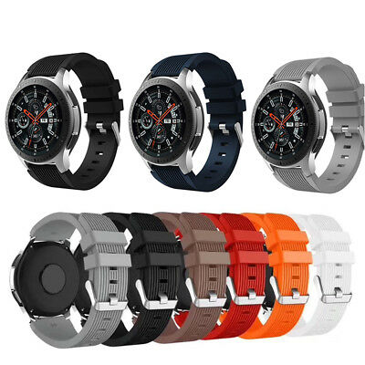 Silicone Wrist Band Strap For Samsung Gear S3 Frontier/Classic,Galaxy Watch 46mm