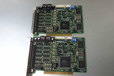 ADLINK PCI-8134 4-axis Servo & Stepper Motion Controller lot of 2