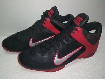 best website 97a90 862d1 Nike Air Visi Pro 4 Basketball Shoes mens size 10.5 black red
