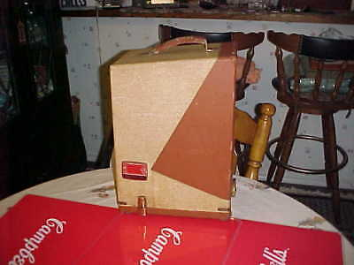 Vintage Keystone 8mm Projector Model 109D W/case Working Antique sweet condition