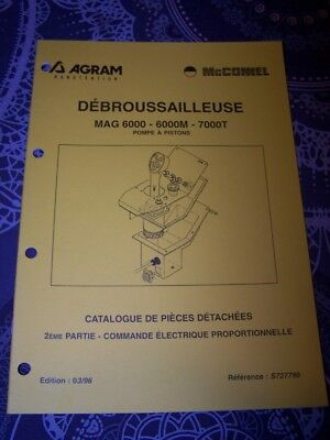 6H Catalogue pieces de rechange AGRAM Debrousailleuse MAG 6000 6000M 7000T