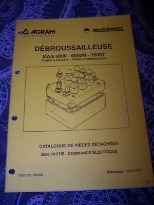 6J Catalogue pieces de rechange AGRAM Debrousailleuse MAG 6000 6000M 7000T