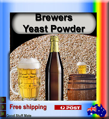 Aussie Seller Organic Brewers Yeast Powder  Very High Quality Free Post