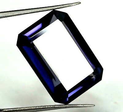 GGL Certified 17.55 Ct Natural Paraiba Tourmaline Emerald Cut Bi-Color Gemstone