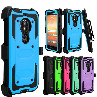For LG K30/Xpression Plus/Phoenix Plus Case Belt Clip Holster Hard Stand Cover