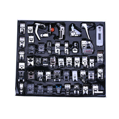 48pcs Multi-function Domestic Household Sewing Machine Presser Foot Feet