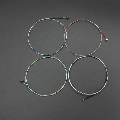 4pcs Set of Violin Strings C-G-D-A Steel Core Nickel Wound Exquisite H9E4