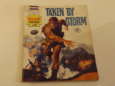 VALIANT PICTURE LIBRARY,NO 137,1969 ISSUE,GOOD FOR AGE,49 yrs old,RARE COMIC.
