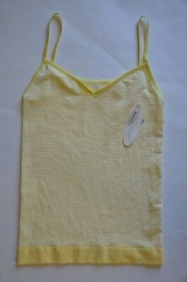 e04fcc895f9cf0 Nordstrom Lingerie Yellow Two-Way Seamless Cami Camisole Tank Top Size S NEW