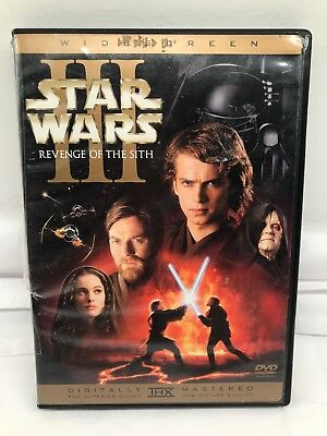 STAR WARS 3: Revenge Of The Sith  (DVD, 2005, 2-DISCS, WIDESCREEN)