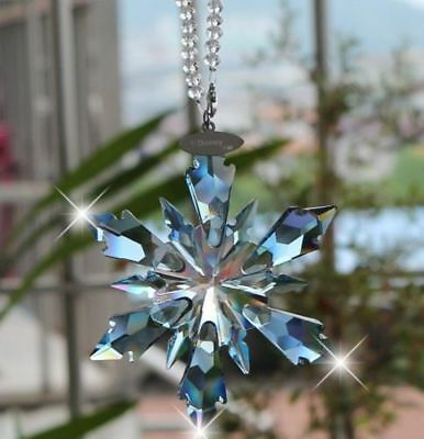 2018 Swarovski Crystal Snowflake large CHRISTMAS ORNAMENT 5286457 Frozen
