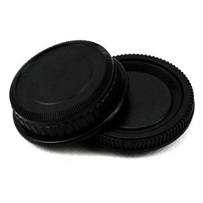 1x Rear lens and Body cap cover for Pentax K PK camera New Sale